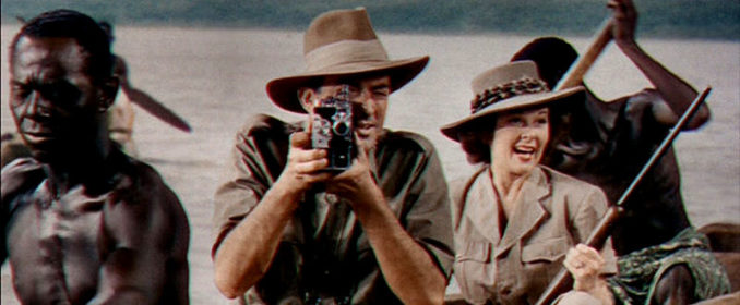 Gregory Peck et Susan Hayward dans The Snows Of Kilimanjaro