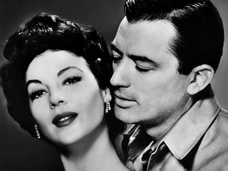 Ava Gardner et Gregory Peck dans The Snows Of Kilimanjaro