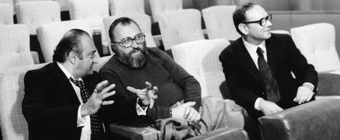 Henri Verneuil, Sergio Leone et Ennio Morricone