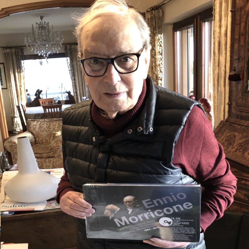 Ennio Morricone en décembre 2019