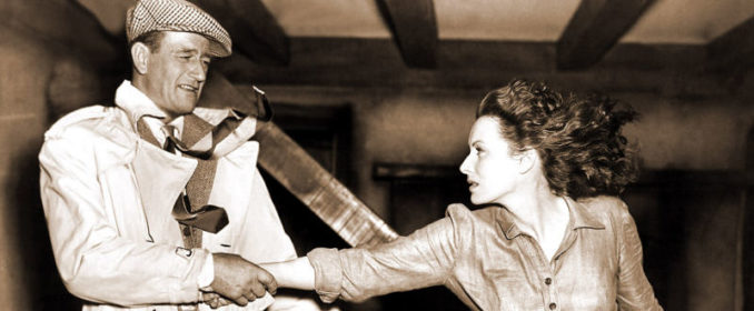 John Wayne et Maureen O'Hara dans The Quiet Man