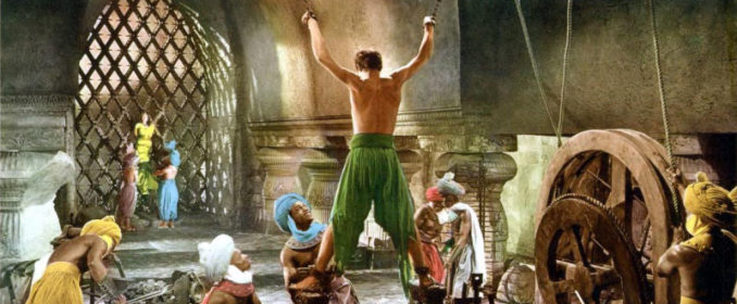 John Justin dans The Thief Of Bagdad