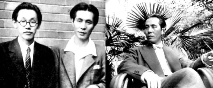Fumio Hayasaka et Akira Ifukube / Ifukube en 1955