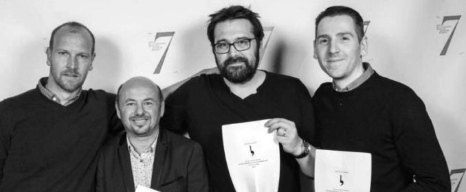 Guillaume Maidatchevsky, Eric Debègue (Cristal Records), Julien Jaouen & Vivien Kiper (Troisième Auteur)