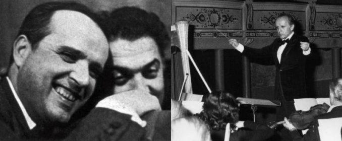 Nino Rota et Federico Fellini