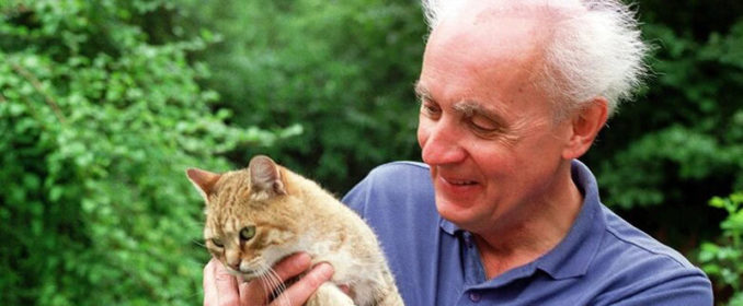 Wojciech Kilar et son chat