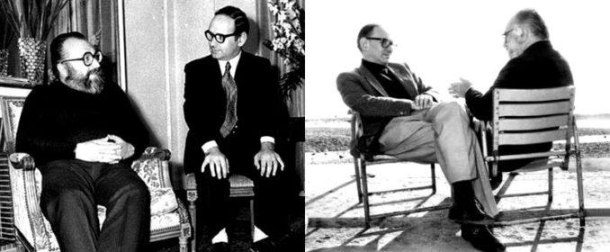 Ennio Morricone et Sergio Leone
