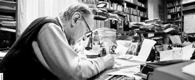 Ennio Morricone au travail