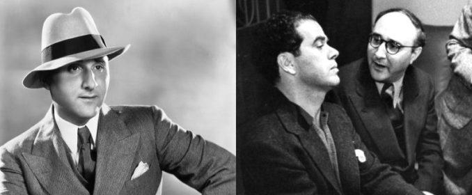 Dimitri Tiomkin avec Frank Capra (droite)