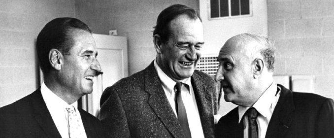 John Wayne et Dimitri Tiomkin en 1960