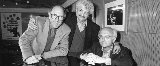 Claude Pinoteau, Yves Robert et Vladimir Cosma