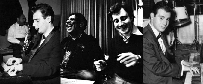 Lalo Schifrin (au centre, avec Dizzie Gillespie)