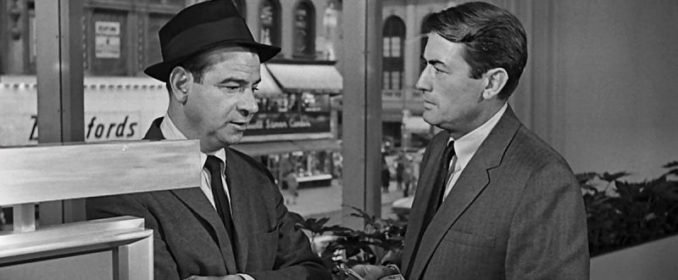 Walter Matthau et Gregory Peck dans Mirage