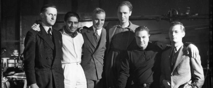 Alfred Newman, Charles Chaplin, David Raksin et Edward B. Powell