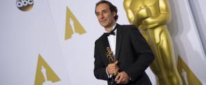 Alexandre Desplat et son Oscar