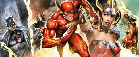 Justice League: The Flashpoint Paradox Banner