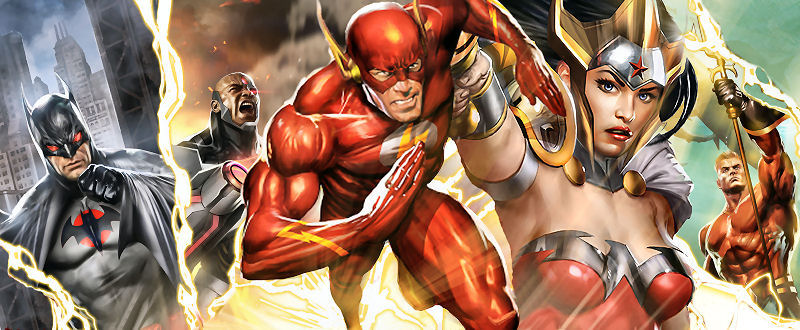 Justice League: The Flashpoint Paradox (Frederik Wiedmann) Courir à perdre Allen