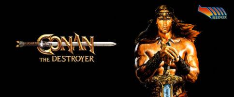 Conan The Destroyer Banner