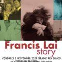 Francis Lai : l'histoire d'amour continue à Paris ! Rendez-vous au Grand Rex pour un concert unique le 5 novembre de cette année